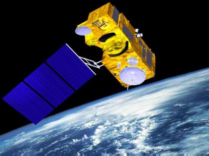 Vue d'artiste du satellite Sentinelle-3